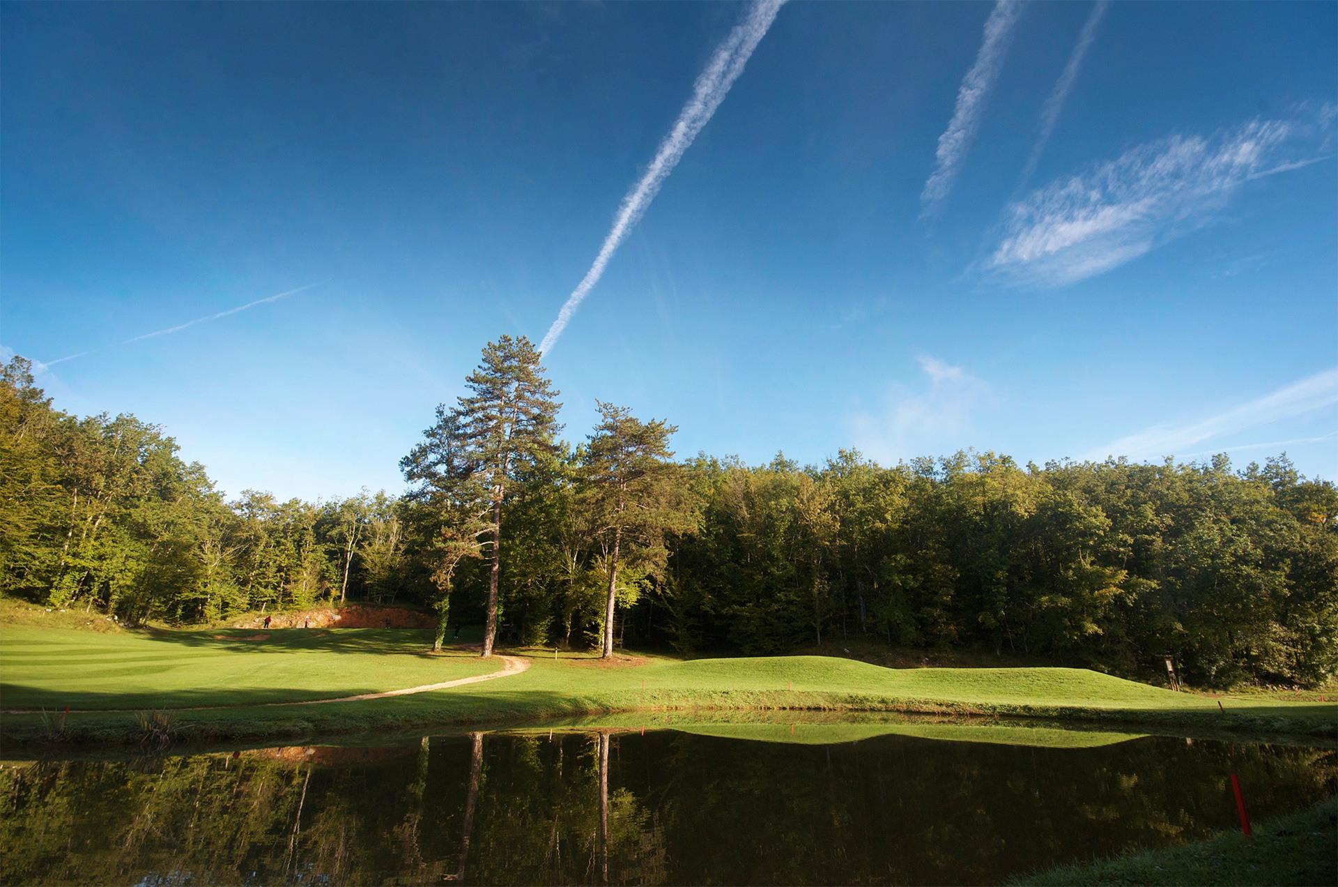Trou numéro 3 - Golf de Souillac - Vallée de la Dordogne