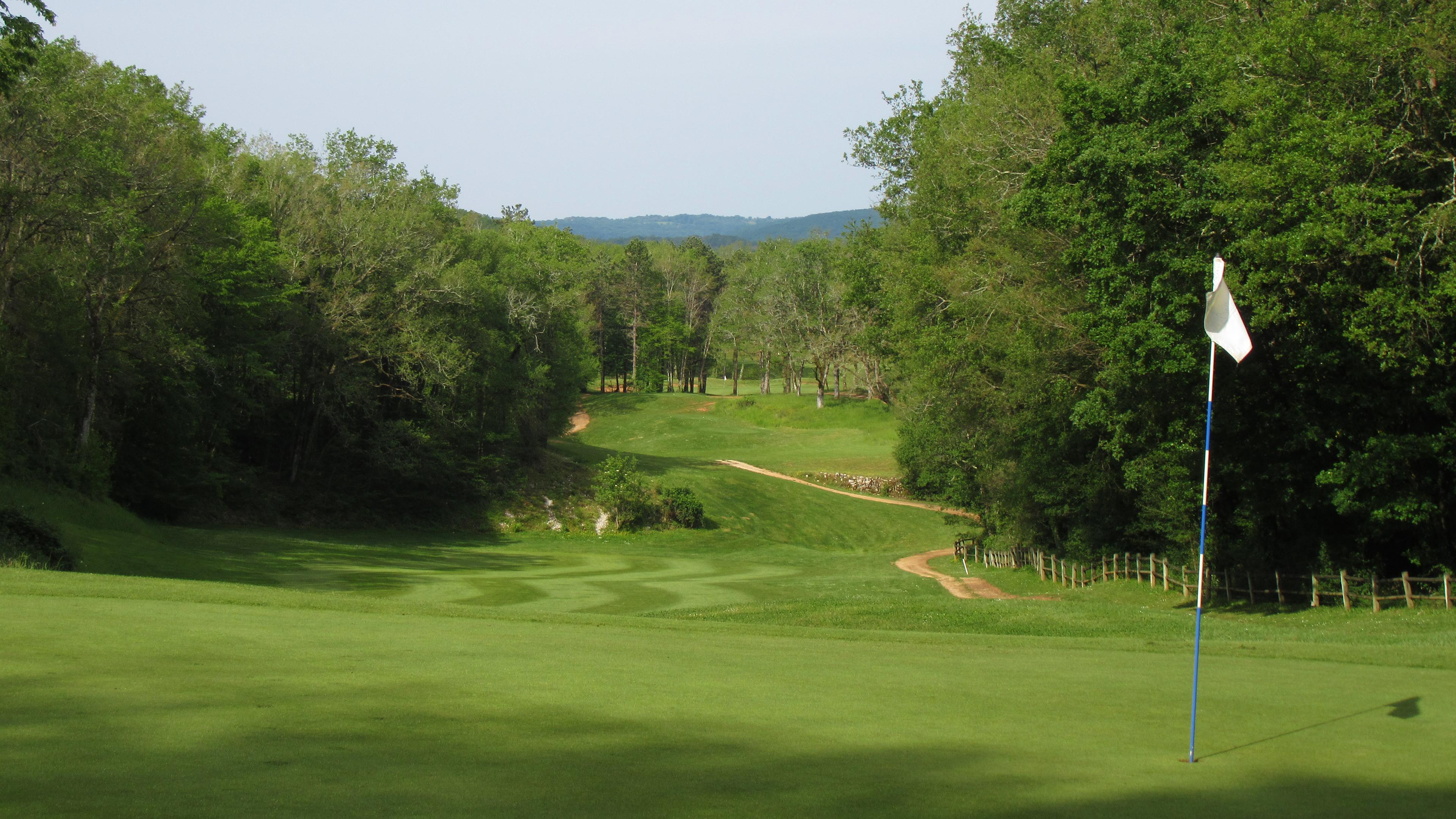 Trou numéro 6 - Golf de Souillac - Vallée de la Dordogne